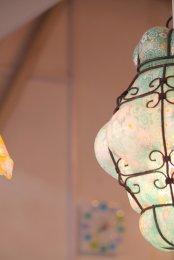 lampa w stylu japońskim