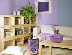 salon fioletowy