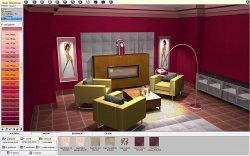 Okno programu CAD Wnętrza
