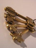 klucze do zamków Gerdowskich są bardzo trudne do podrobienia